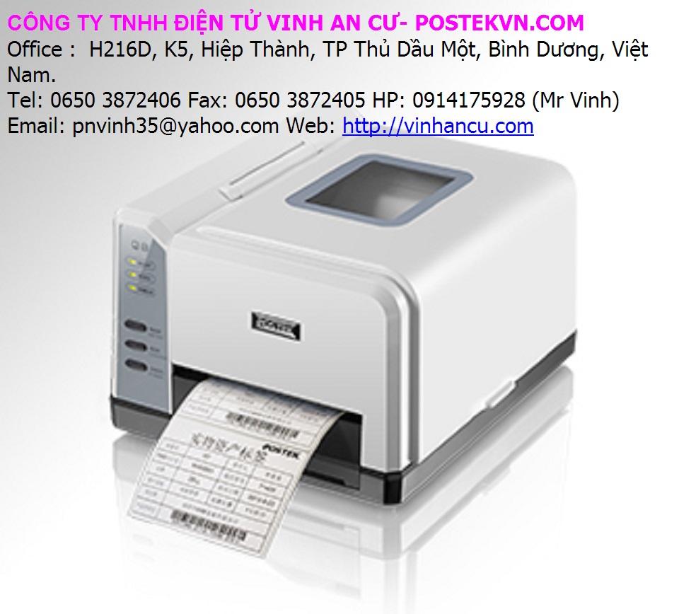 máy in POSTEK cho 4000 tem nhãn mỗi ngày
