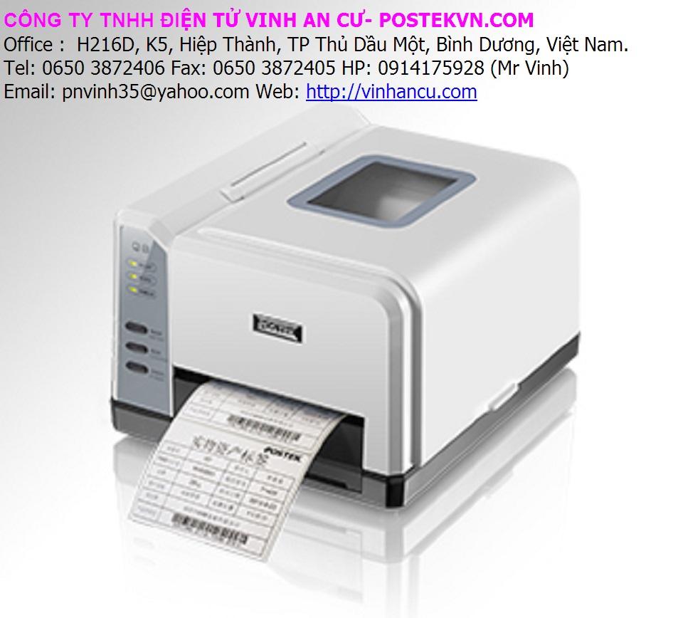 Máy in tem nhãn Postek Q8 300 DPI giá rẻ