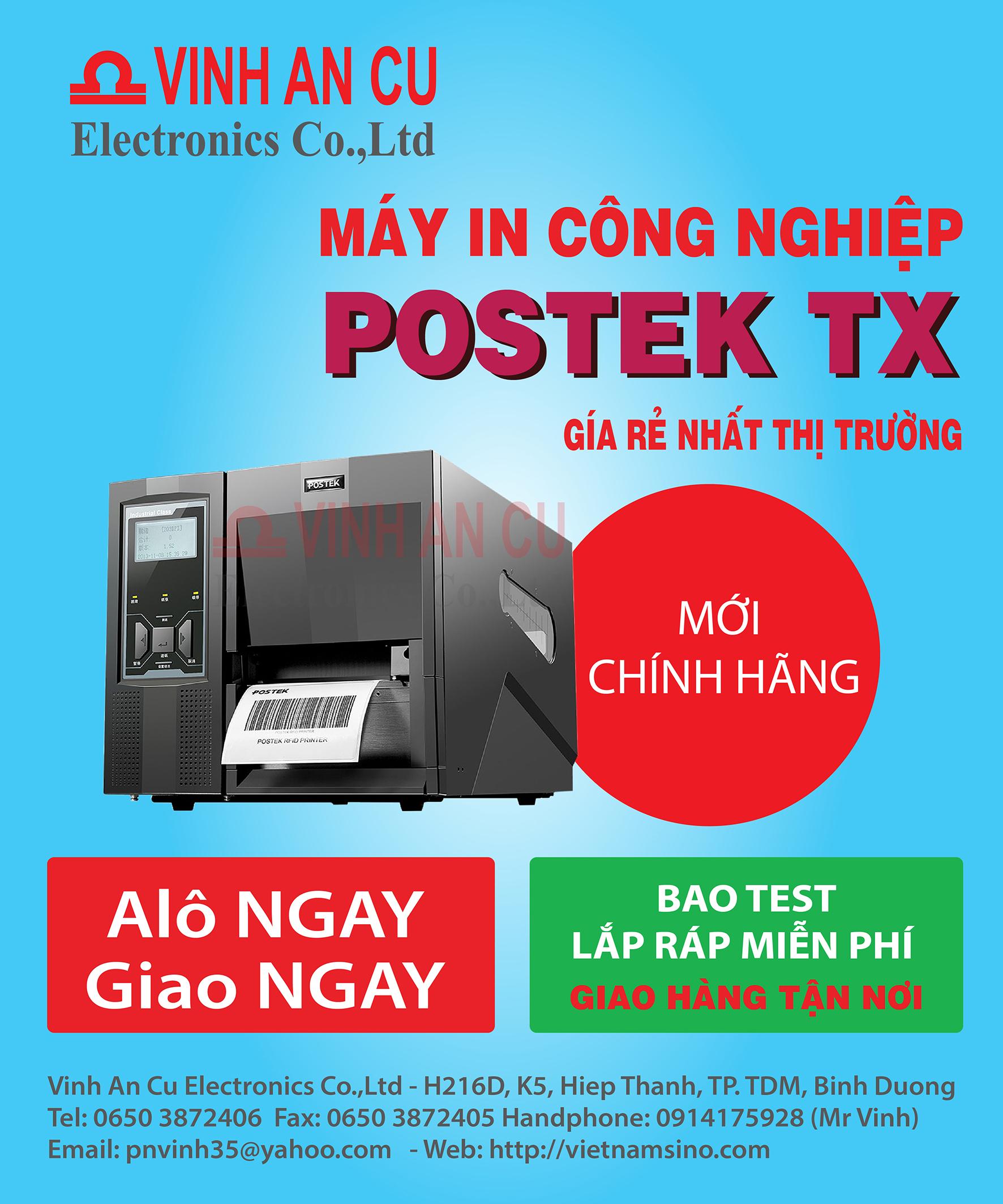 Máy in công nghiệp POSTEK TX2