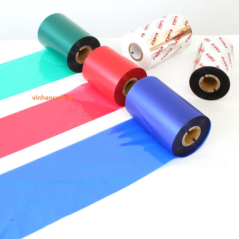 Ribbon mực in mã vạch Dynic Wax S245